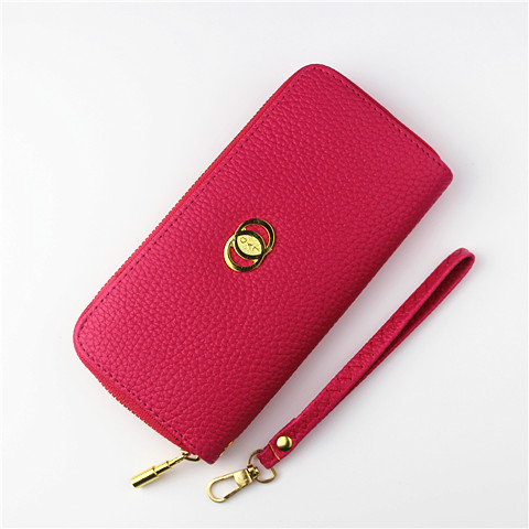 Women wallet 2015 new Long section wrist wallet European and American style phone package free shipping 0158(China (Mainland))