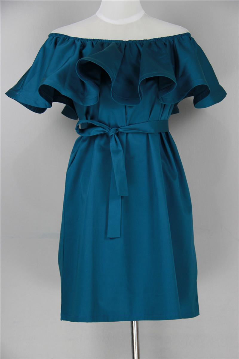 Платье с воланами вверху сшить