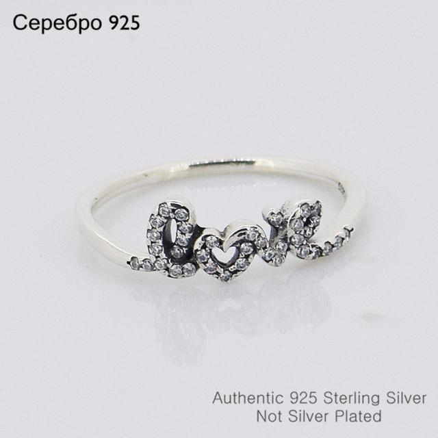 Кристалл любовь кольцо размер # 6 - 9 свадебные ну вечеринку кольца для женщин сделай сам мода аксессуары и украшения 925 кольцо оптовая продажа