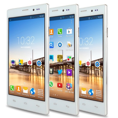 """US Stock UK Stock 5.5"""" QHD Original Smartphone Android 4.4 MTK6572 Dual Core 512+4GB Unlocked WCDMA GPS Mobile Cell Phones(China (Mainland))"""