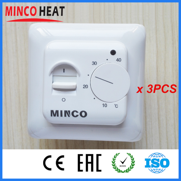 China New 230V Programmable Elecrtric Radiator Room Floor Heating Thermsotats Temperature Controller to warm floor(3PCS)<br><br>Aliexpress