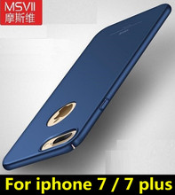 Buy Iphone 7 case iphone 7 plus case MSVII brand luxury 360 Full body case Hard Frosted PC back cover Apple iphone 7 7 plus for $4.99 in AliExpress store