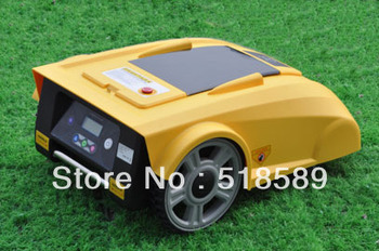 Robot Lawn Mower/mowers car LF008 Newest Funciton with Compass+lead-acid battery+Remote Controller