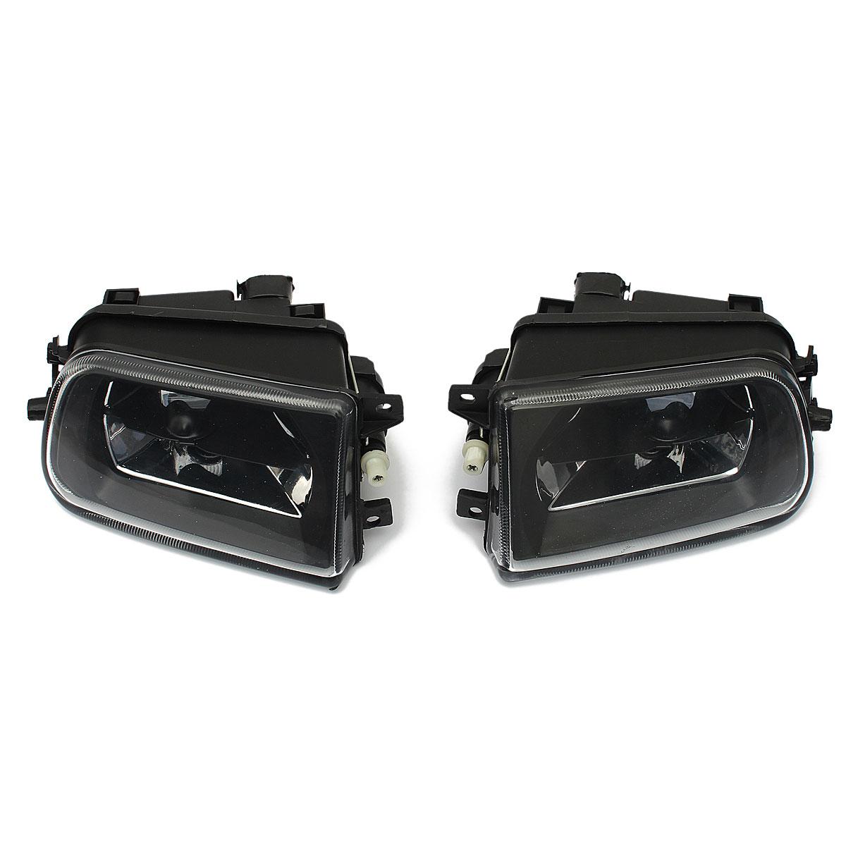 Audew 1 Pair Car Fog Lights Driving Spot Lamps Black Housing For BMW E39 5 SERIES Z3 1997-2000<br><br>Aliexpress