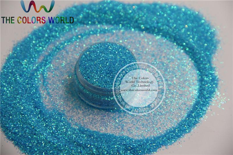 NO.11 0.4MM Blue Rainbow Color Shining Nail Glitter Powder(China (Mainland))