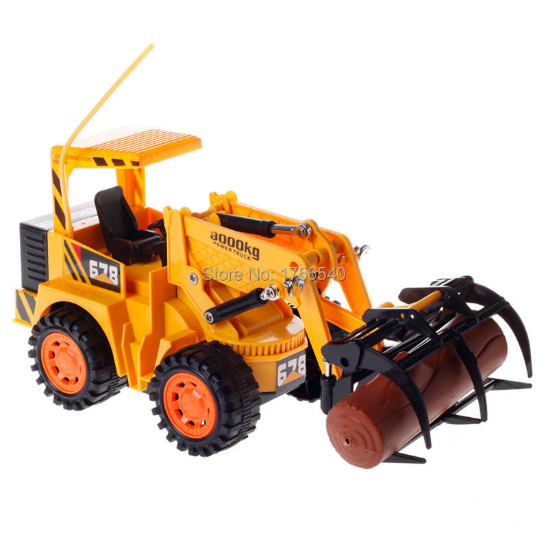 Yu Hang 8029 5CH Remote Control Power Truck Lumber Truck RC Toys For Kids Children Yellow(China (Mainland))