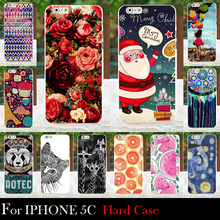 For Iphone 5C Hard Plastic Cellphone Mask Case Protective Cover Housing Skin Mask Shipping Free