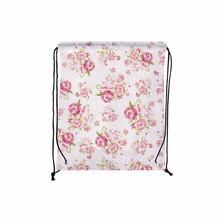 Четыре pcs/lot цветочные печатные подвесных шнурок водонепроницаемые сумки цветок розовый хранения