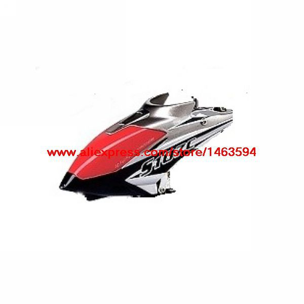 Wholesale Syma S107 S107C RC Helicopter Spare Parts Red-Silver color head cover Free Shipping(China (Mainland))