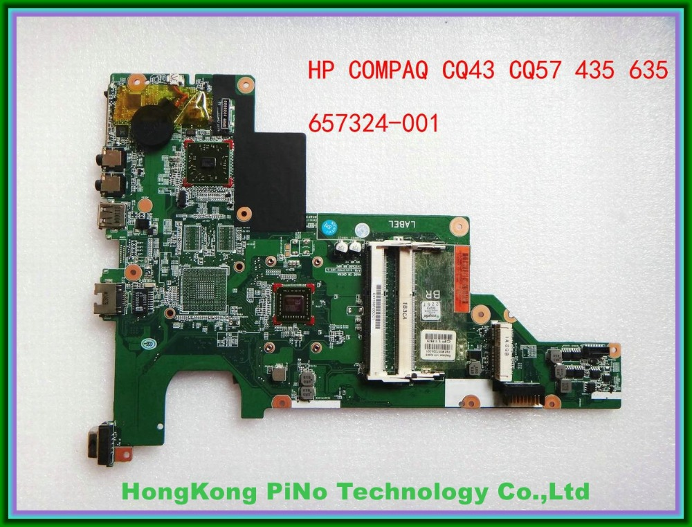 Offer 657324-001 For hp CQ43 CQ57 435 635 motherboard 01015PM00-600-G 100% Tested(China (Mainland))