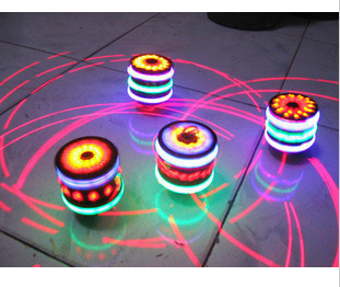 Wool spinning top music flash spinning top light-up toy spinning top flash music spinning top