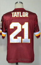 Washington #21 Sean Taylor Jersey Throwback American Football Jersey Stitched Logo Embroidery Retro Authentic Sports Jersey(China (Mainland))