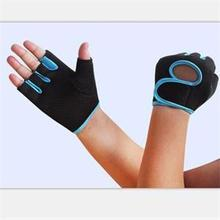 New Bicycle Cycling Gloves GYM Exercise Fitness Mitten Half Finger Weight Lifting Gloves Sports Training Accessories M Size
