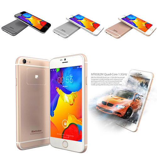 In Stock Free Gift Free Shipping Blackview Ultra A6 Phone MTK6582 Quad Core 1GB 8GB 4.7 Inch Back Touch(China (Mainland))