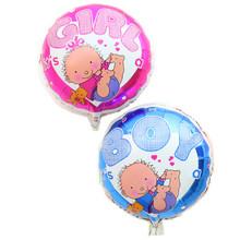 Бесплатная доставка 1 шт. алюминиевая фольга воздушные шары день рождения мальчиков и девочек детские игрушки воздушный шар оптовая
