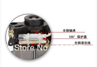 800W industrial vacuum cleaner motor wet and dry use factory vacuum cleaner motor(China (Mainland))