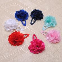 2pcs/lot Baby Girls Hair Clip Band Hairpins Toddler Kids Flower Pumpkin Fashion Gift hair accessories(China (Mainland))