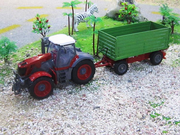 1:28 scale 6CH remote control RC truck,radio control US farm tractor dump trucks(China (Mainland))