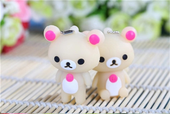 Lovely bears special gift for girls USB 2.0 flash drive memory stick pen drive u disk 2GB-GB Real capacity S95(China (Mainland))