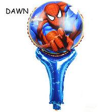 1 pc Grande Decorações Balões do Aniversário Balões Folha Spiderman Big superhero Spiderman Crianças Baby Boy Toys presente Bolas balões de Ar(China)