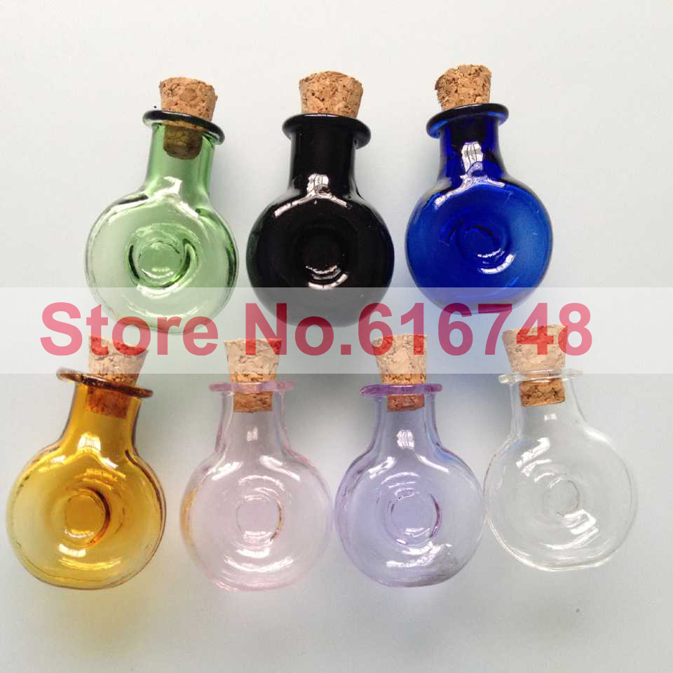 Free S 2ml Xo Shaped Glass Bottle Vials With Wood Cork