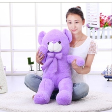 80cm Lavender Teddy Bear plush toy Natural lavender scent super soft plush toy Girls favorite birthday gifts