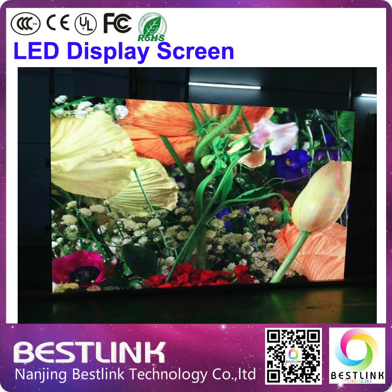 large size led display screen p4 indoor rental screen billboard indoor led video wall digital electronic display tv moving text(China (Mainland))