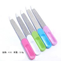 Free Shipping,  Mini. Steel Functional Nail File Cleaner Charp End for Dust Remover Manicure tool Gift