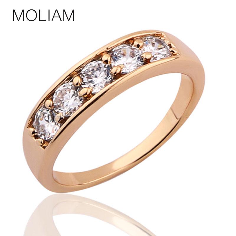moliam new classic designer cz engagement rings