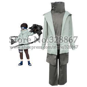 Naruto Shino Cosplay Costume