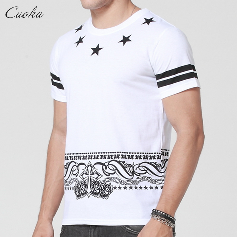 Cuoka Free Shipping Mens T Shirts Fashion 2016 3d T Shirt