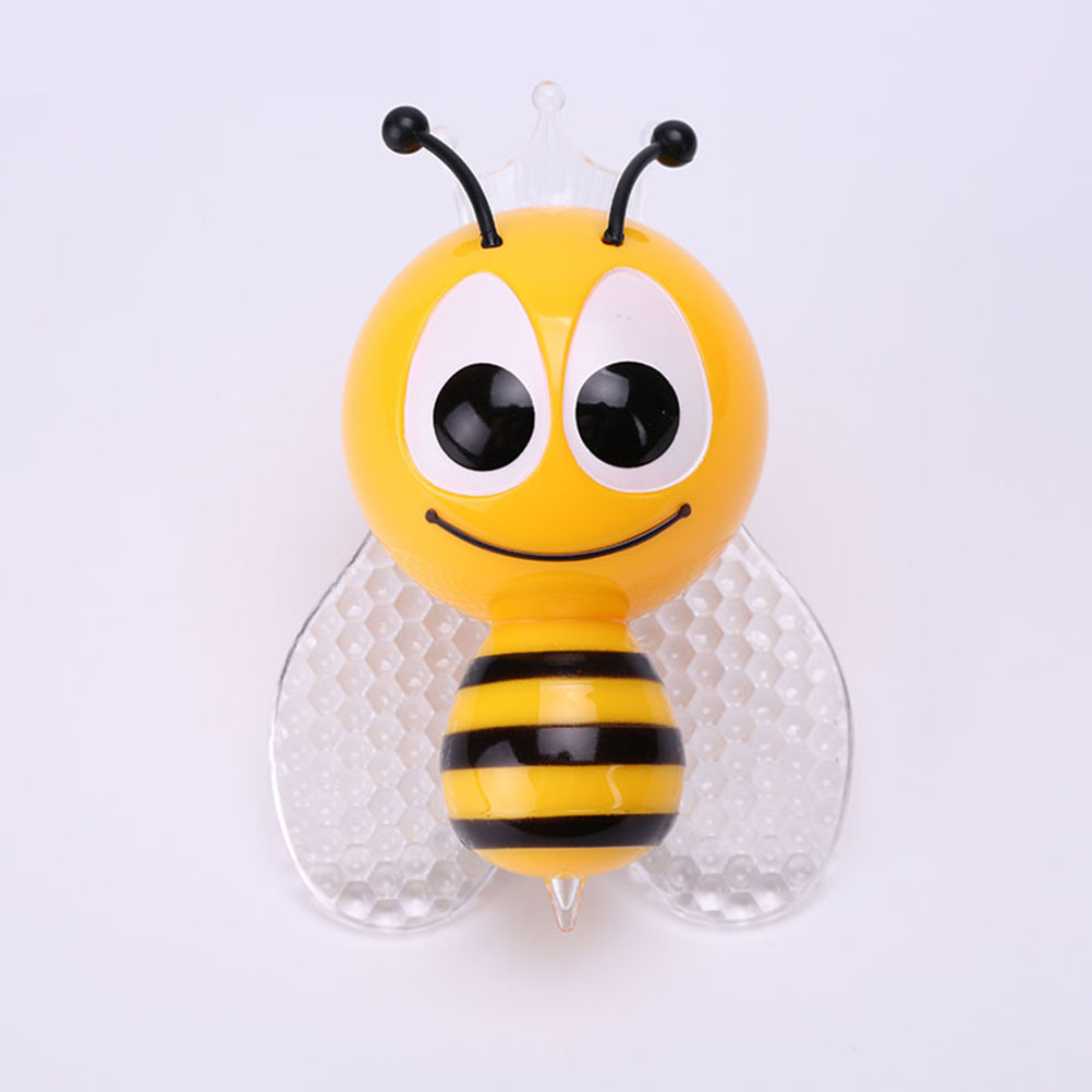 Bee Design Night Light Lamp Light-Controll Wall Nightlight for Baby and Toddlers with EU Plug(China (Mainland))