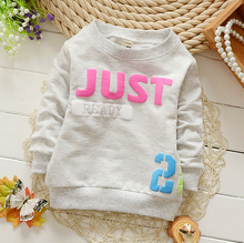 2016 new boys hoodie hot  100% cotton hoodies kids kids sweatshirt boy 0-2Y.boys hoodies and sweatshirts.baby girl clothes(China (Mainland))