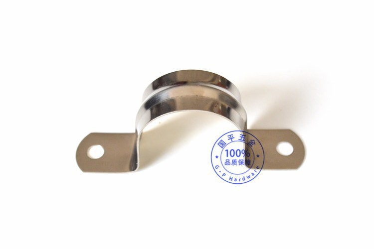 M quality assurance stainless steel saddle clamp