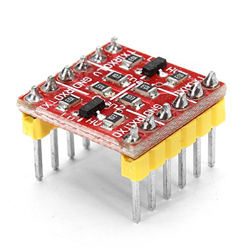 New 3.3V 5V TTL Logic Level Converter Bi-directional Conversion System Arduino Electronic Components
