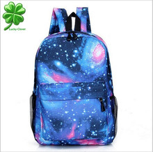 2015 women men's backpack Canvas New GALAXY collection Printing casual school/sport/travel latop shoulder book bags pack brand(China (Mainland))