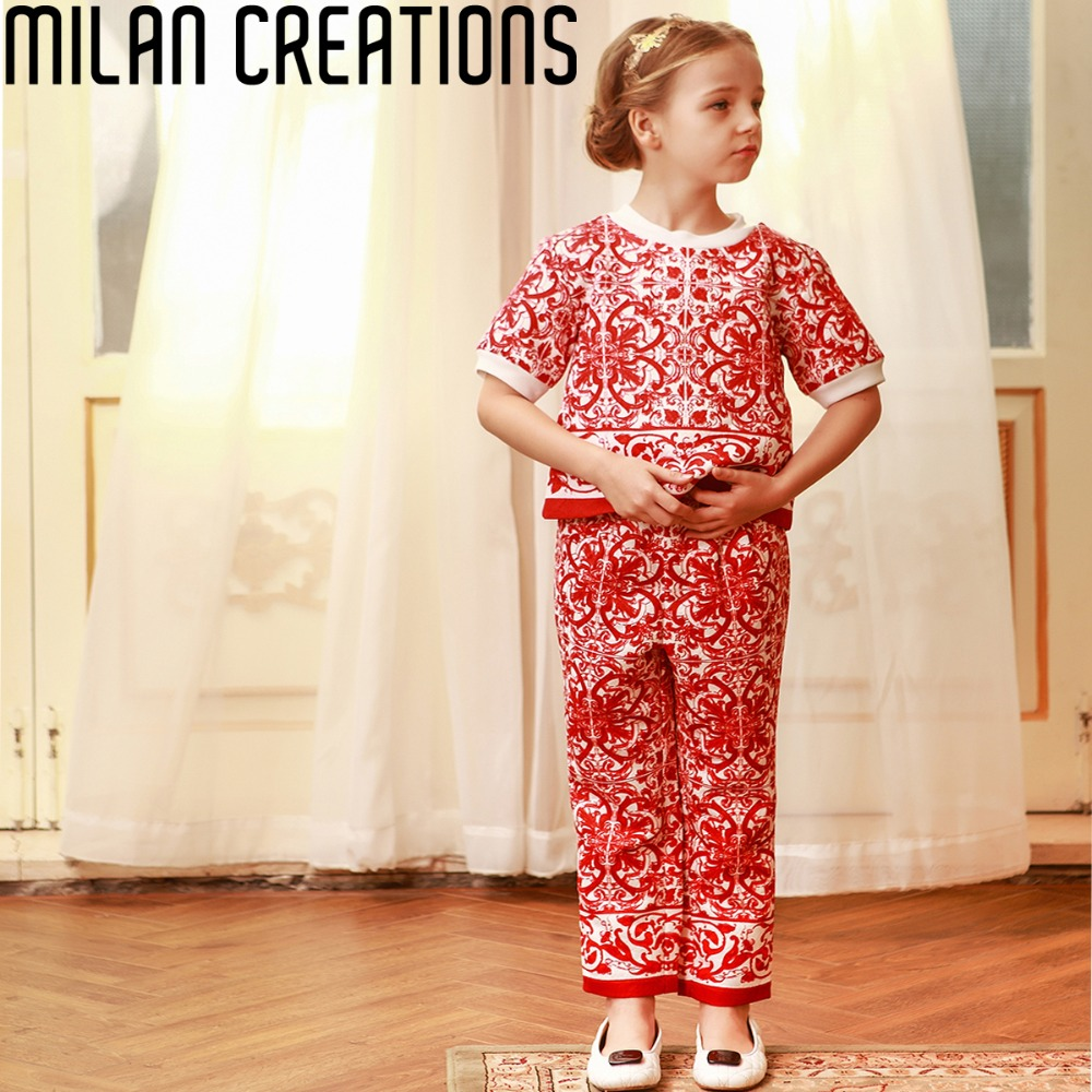 Milan Creations Girl Clothing Set Children Winter Suits for Girls Clothes 2015 Brand Kids Tracksuit Girls Sets (Tops+Pants) <br><br>Aliexpress