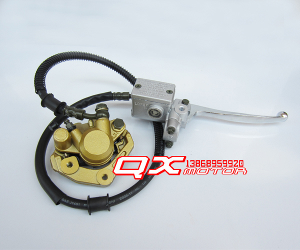 monkey bike small little monkey motorcycle brake calipers Front disc brakes on the pump