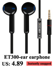 Free Shipping 3.5mm current Earphones High Quality Best Bass headset For IPhone 5 5S 4 6 Plus Samsung MP3