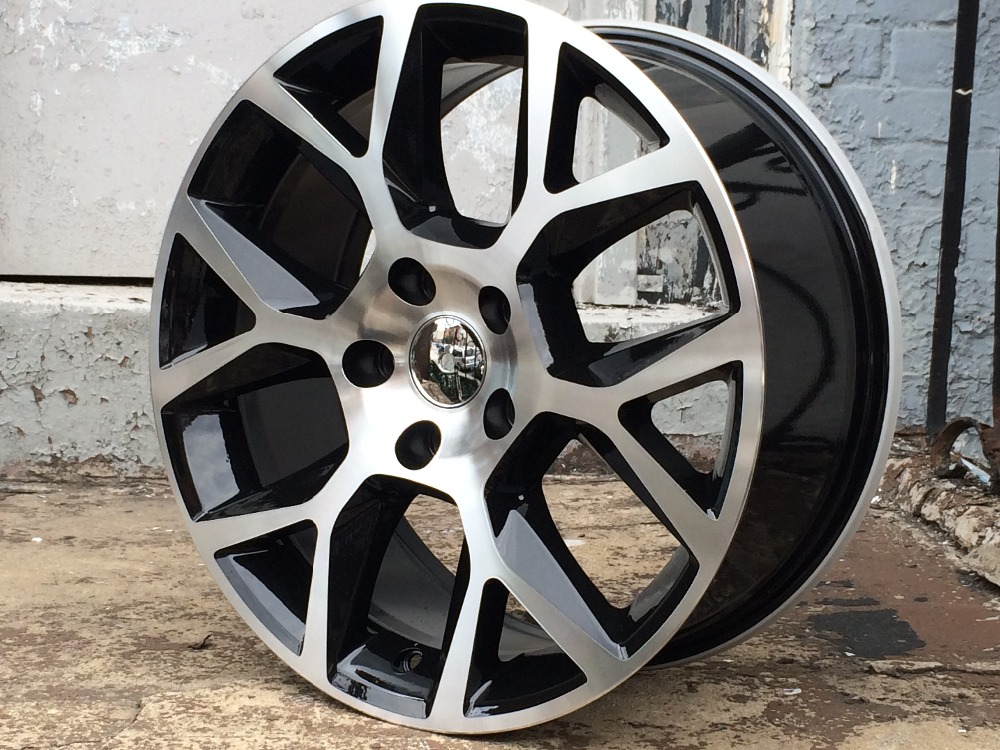 "18"" for VW GTI HYPER SILVER LAGUNA RIMS WHEELS 5X112 +45MM OFFSET W640(China (Mainland))"