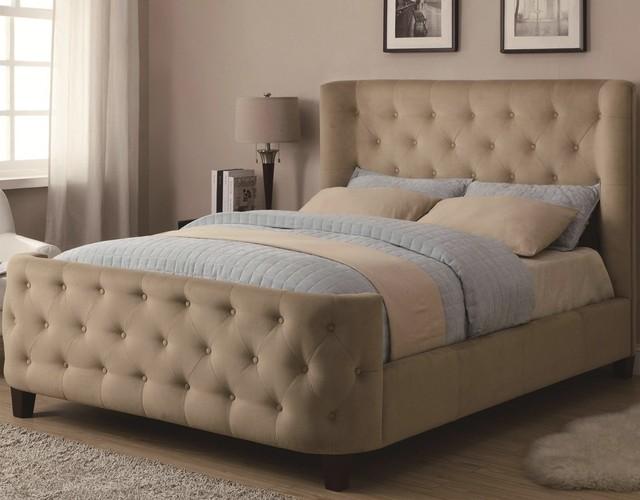 Fb1514 imbottita telaio del letto mobili camera da letto ...