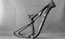 carbon frame/carbon mtb frame /bicycle frame /29er carbon suspension frame with DNM shock(China (Mainland))