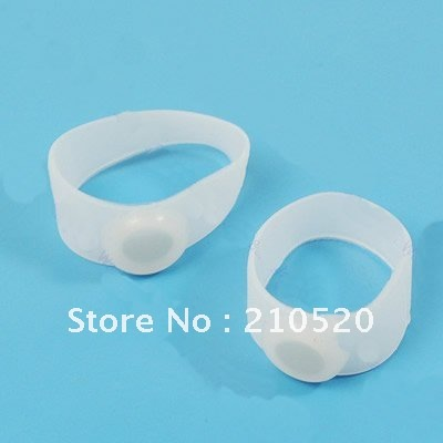 Y92 10 pairs Original Magnetic Silicon Foot Massage Toe Ring Keep Healthy Weight Loss Slimming Free