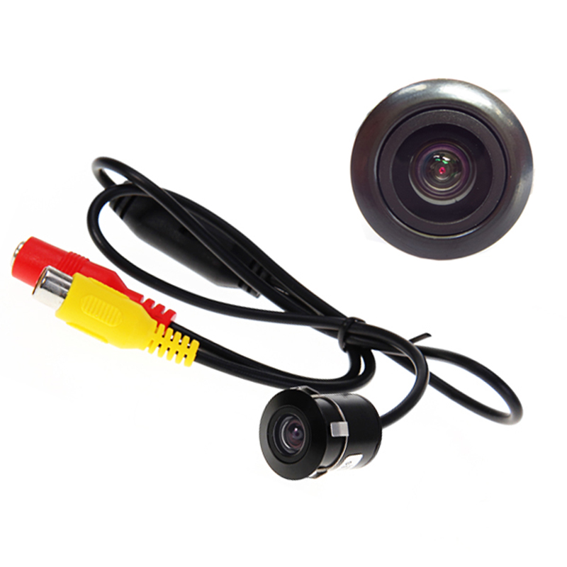 Mini Waterproof Car Parking Assistance Reversing Back Rear View Camera, HD CCD Image Sensor Rearview Camera 3 Camera For Option(China (Mainland))