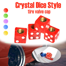 Car styling Christmas promotion Crystal  Red style Car Valve Cap , tire valve cap , EMS fast shipping(China (Mainland))