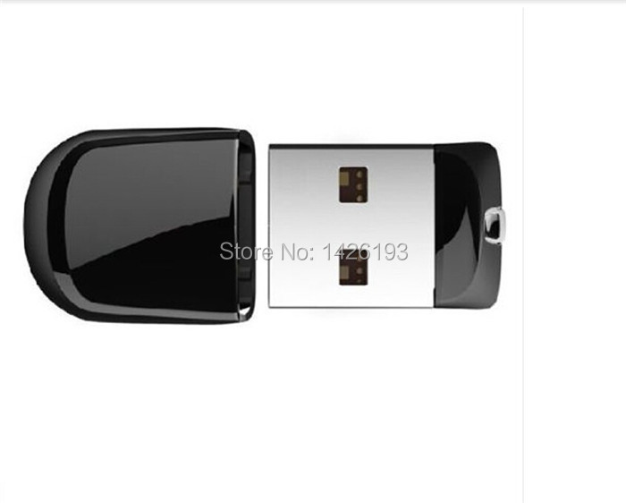 Free Shipping Super Mini Black USB Flash Drive Video Storage Pen Drive 64GB Memory Stick 32GB 16GB 8GB 4GB USB 2.0 U Disk(China (Mainland))