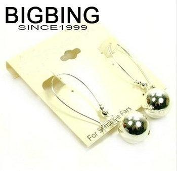 Bigbing ювелирные изделия мода ювелирные изделия мода серебряные серьги бесплатная доставка W028
