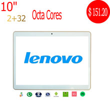 Lenovo Tablet 10 Inch MTK6592 Octa Core 1280*800 IPS Phone Call Android Tablet PCS 2GB/32GB Dual SIM Tablet PC 9.7
