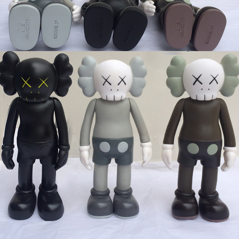 Low Price 8 inch kaws Original Fake Companion toy kaws factory product fancy toy gift, Three color optional(China (Mainland))