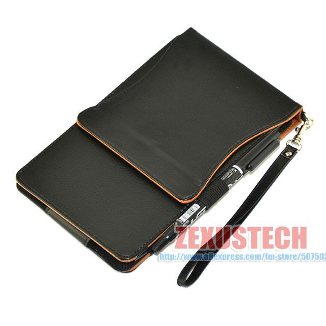 2012 Fashion Portable 360-degree Flip PU Leather Bags For Google Nexus 7, Tablet PC 7-inch Stand Cover Free Shipping
